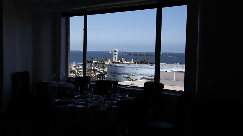 Views from, of and around the Sky Room at the Breakers Hotel, built in 1926!