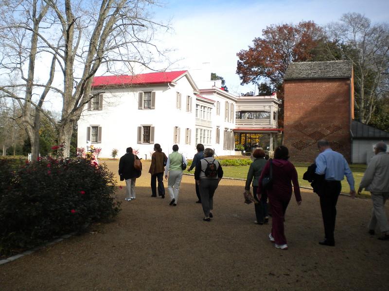 AAA-CPA Spouse Tour - Belle Meade Plantation