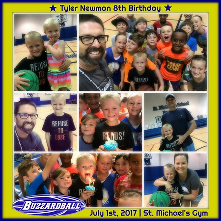 JULY 1ST, 2017 | Tyler Newman 8th Birthday