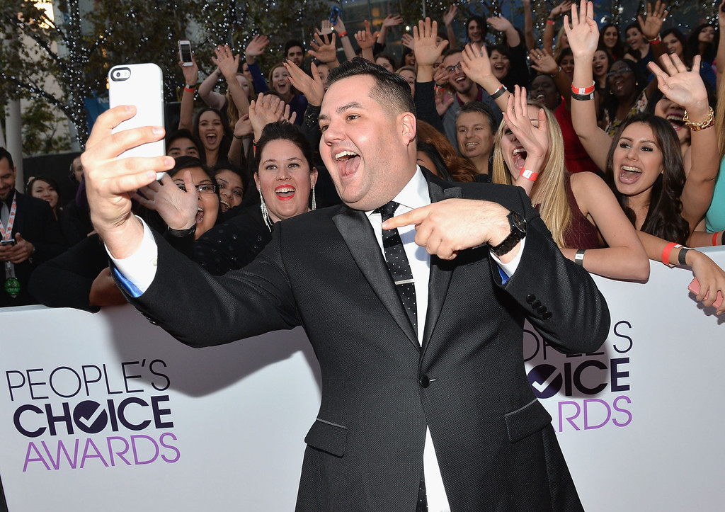 . LOS ANGELES, CA - JANUARY 08:  TV personality Ross Mathews attends The 40th Annual People\'s Choice Awards at Nokia Theatre L.A. Live on January 8, 2014 in Los Angeles, California.  (Photo by Michael Buckner/Getty Images for The People\'s Choice Awards)