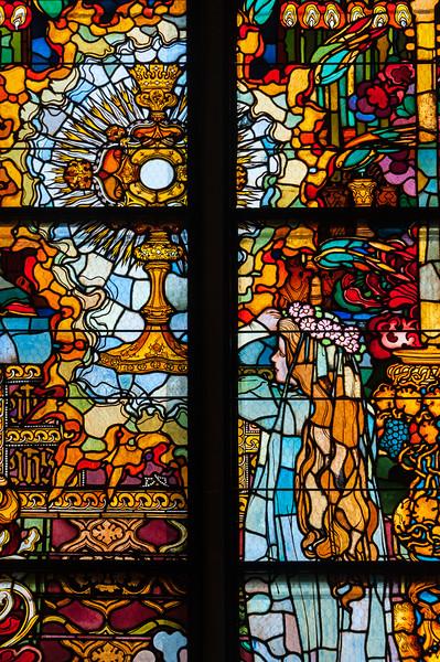 Jugendstilfenster Detail (NEY)
