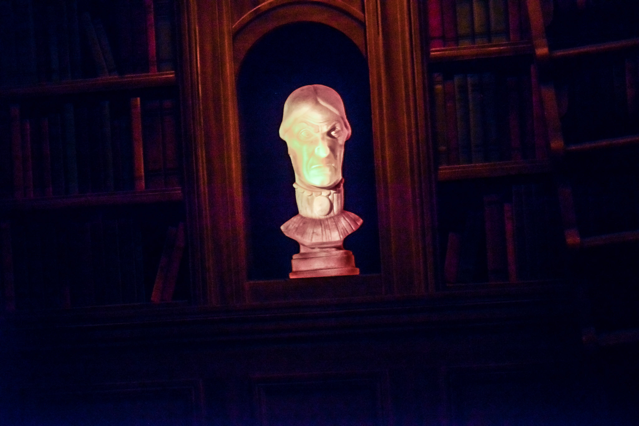 Haunted Mansion Bust - Walt Disney World Magic Kingdom