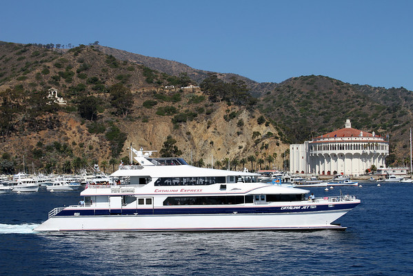 Catalina Island in Avalon, CA August 2010