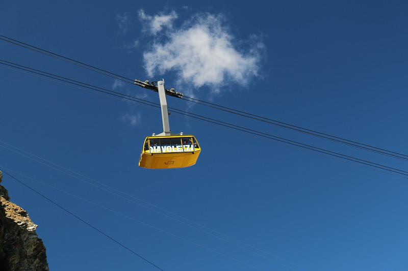 Diavolezza cable car