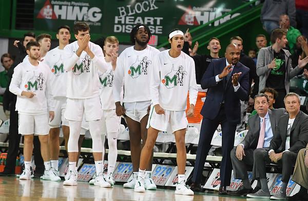 11.07.19 Marshall Basketball vs. Robert Morris