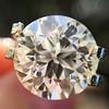 3.86ct Old European Cut Diamond GIA K VS2 35