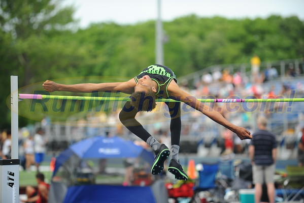 Boys' High Jump - 2016 Oakland County T&F Championships