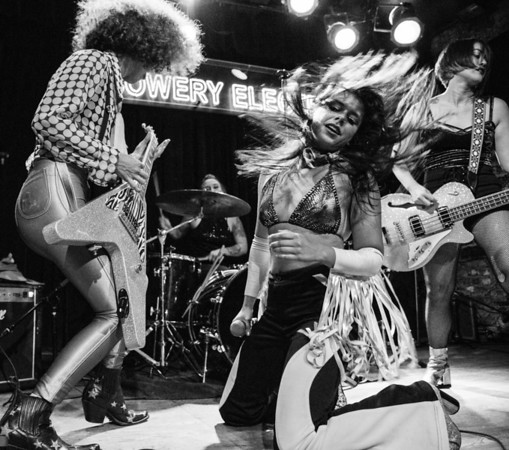 PDN Magazine Award Winning Photo - Ultimate Music Moment/Performance - Glam Skanks @ The Bowery Electric NYC