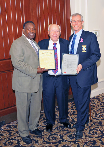 Honoring Albert Fendig, Jr at the A. W. Jones Heritage Center 10-23-12