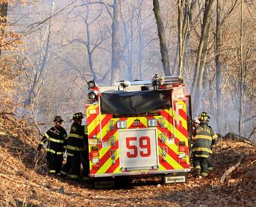Budd Lake Fire Knocks Out Brush Fire