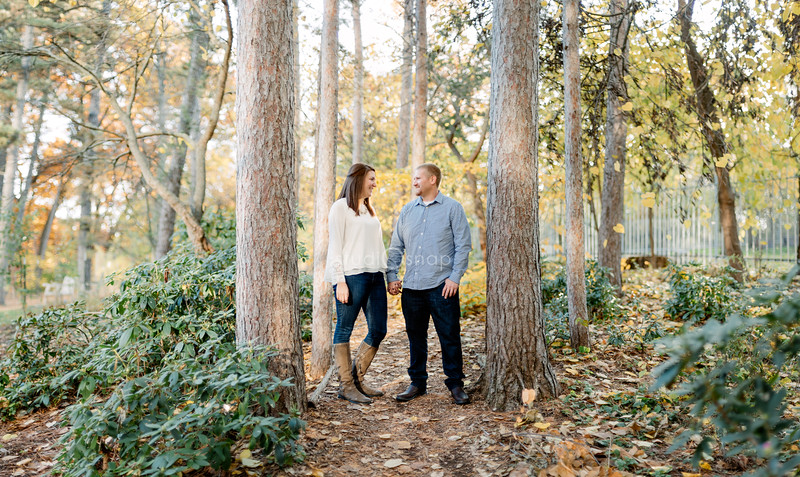 Ashley & Craig | Engagement | Nichols Arboretum, Ann Arbor