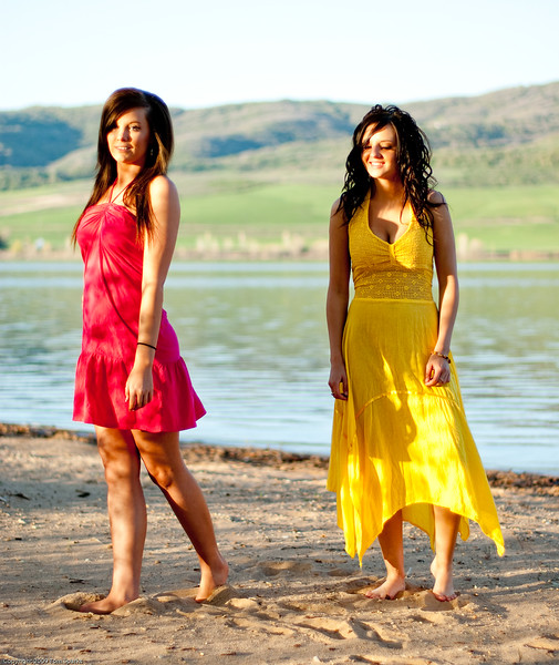 Deanna Hill and Friend Bikini Pineview