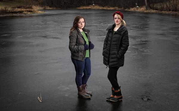 Helen and Kim on Ice