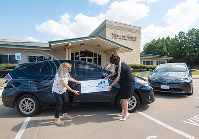 The Womens Fund grant money buys 2 cars for Meals on Wheels by Sarah A. Miller