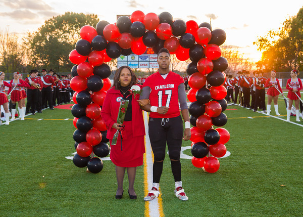 Senior Night 2013 at Charleroi
