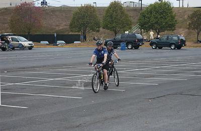 23774 Bike patrol during football game