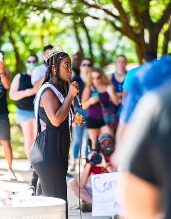 Black Lives Matter Police Brutality Protest, Wichita Falls, TX, 6/6/2020