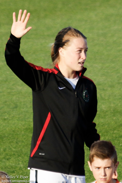 Emily Sonnett - Player Introductions (07 May 2016)