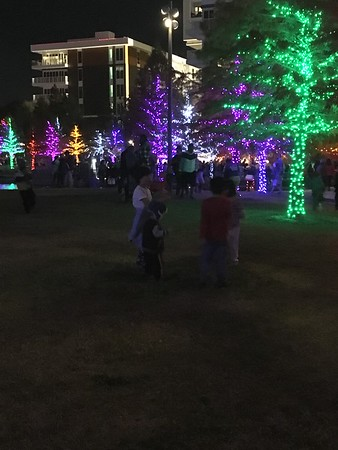Christmas lights in Dallas 2017