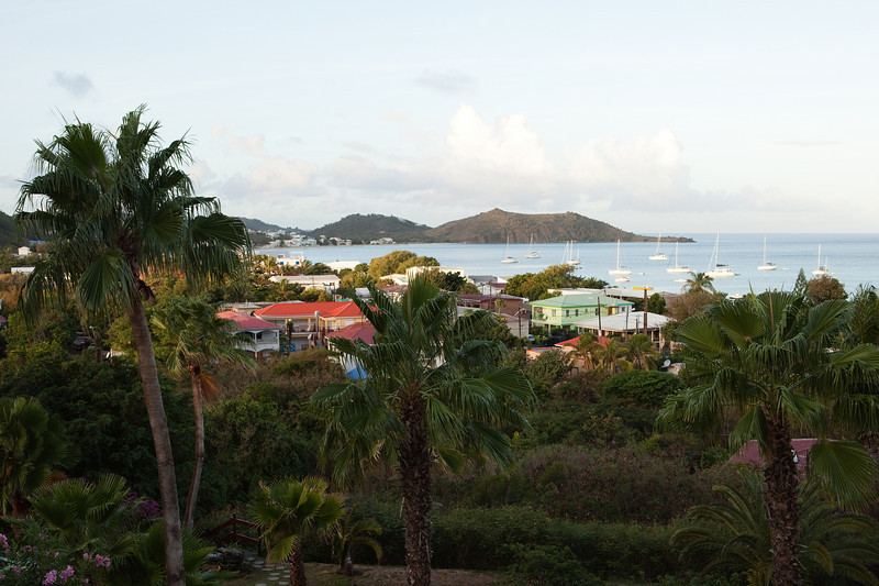 View of Grand Case from Hotel L'Esplanade