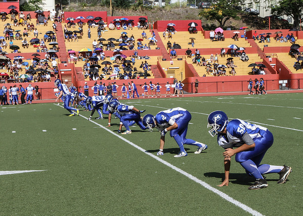 Moanalua vs Farrington 9/8/2012