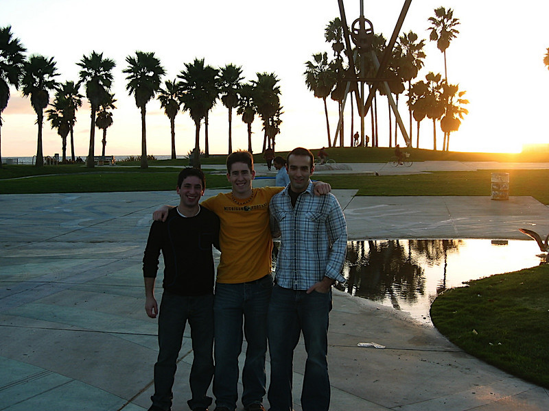 08 - Aaron, Andrew, Anthony at Vienna Beach.JPG