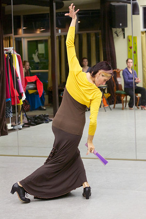 12-2-13 Flamenco Dancing Rehearsal (2)