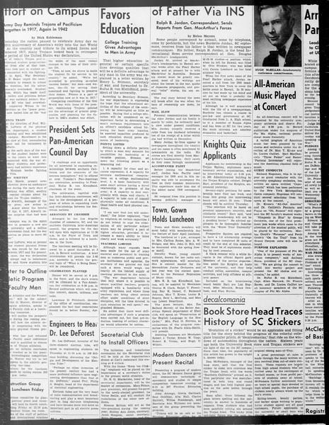Daily Trojan, Vol. 33, No. 102, January 31, 1942