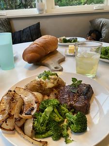 2021.05.06 Steak dinner