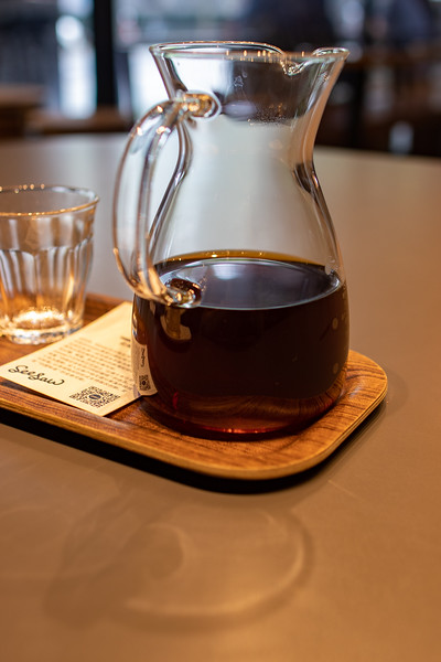 Fancy pourover from Seesaw.