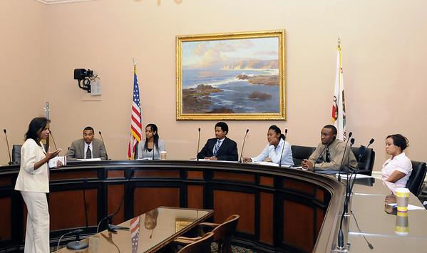 2008 Legislative Black Caucus Interns