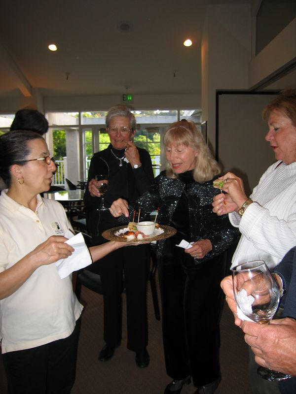 Winemaker Dinner - Trinitas, April 29, 2005