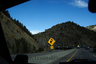 The drive to Moab