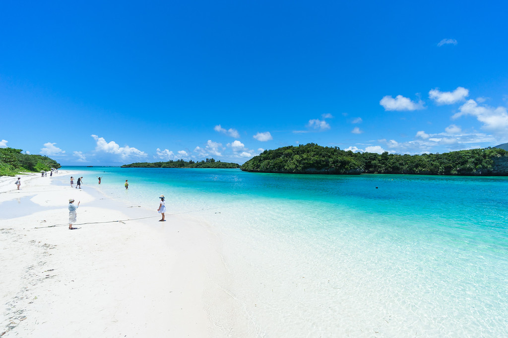 Beach on Ishigaki-jima Island in Okinawa. Editorial credit: tororo reaction / Shutterstock.com