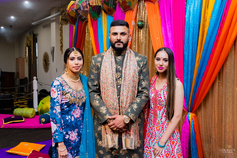 Talwinder's Prewedding Events