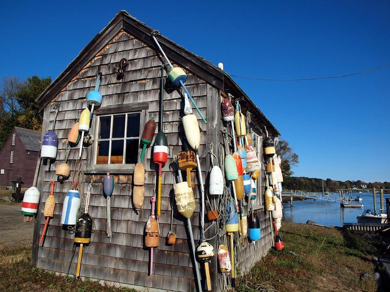 York Harbor - Lobster trap floats