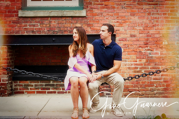 Sam and Bryan Engagement, Old City Philadelphia