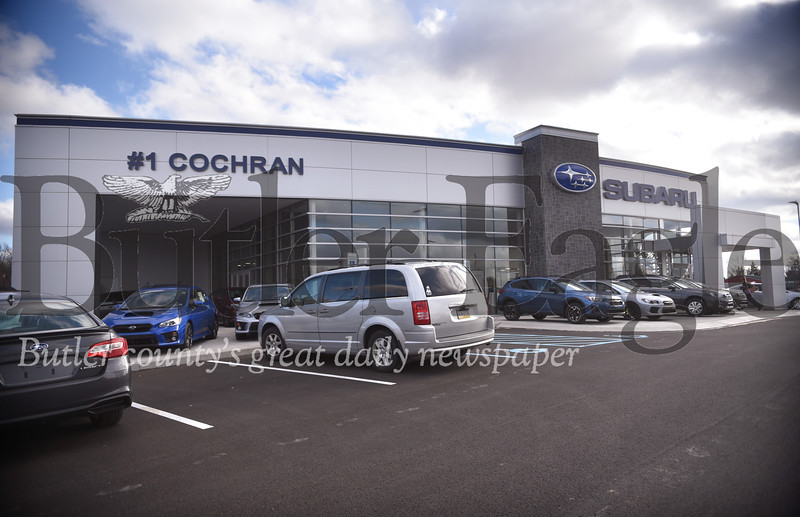 22847 #1 Cochran Subaru of Butler County new building on Route 68 in Connoquenessing Twp