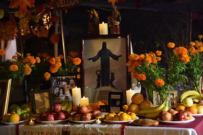10-31-19 Dia de los muertos preparation
