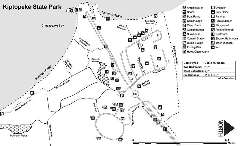 Kiptopeke State Park (Facilities Map)