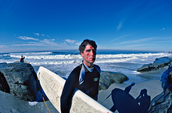 Rights Managed Stock Photography - La Jolla Reefs Surfing & Personalities