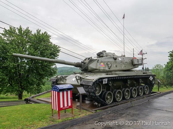 AL Post 980, Plum, PA – M60A3 & SeaBee Bulldozer