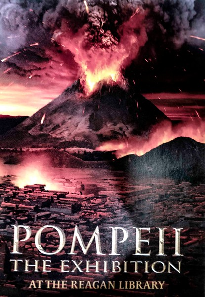 Reagan Library--Pompeii Exhibit--2018