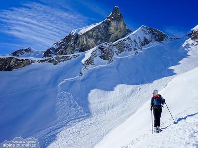 Laufbacher Eck and Grosser Wilder ski mountaineering