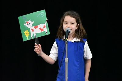 1st Grade Poetry Festival