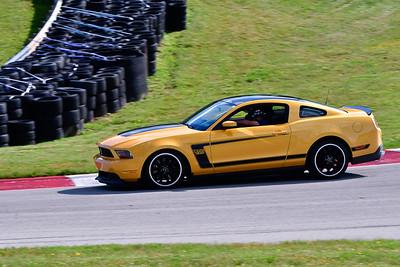 2021 SCCA TNiA June 24 Pitt Adv Gold Mustang