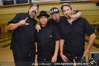 The Lads -Punk Rock Bowling 2012 Team Photo -  Gold Coast - Las Vegas, NV - May 26, 2012
