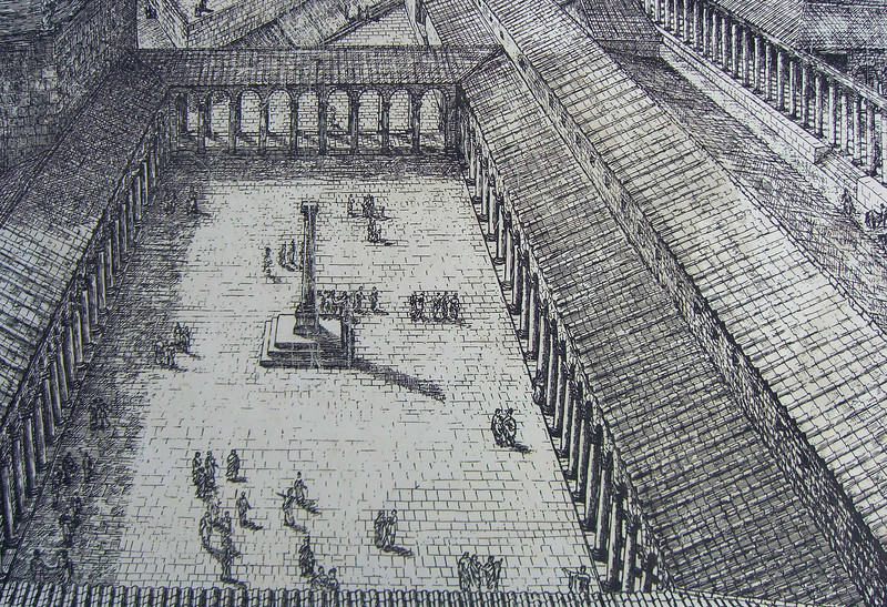 Byzantine concourse (agora, marketplace)