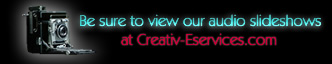 View audio slideshows at Creativ-Eservices