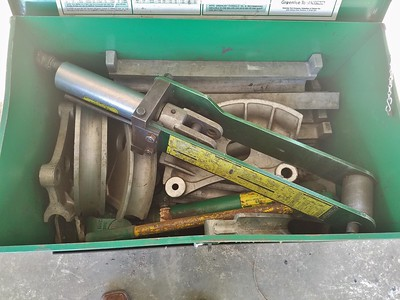 Online Auction-Electrical Conduit benders related Electrical Equipment